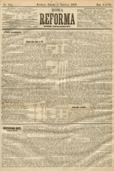 Nowa Reforma (numer popołudniowy). 1908, nr261