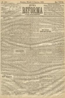Nowa Reforma (numer popołudniowy). 1908, nr263