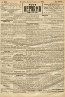 Nowa Reforma (numer poranny). 1908, nr264