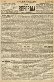 Nowa Reforma (numer popołudniowy). 1908, nr265