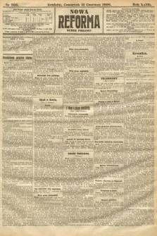 Nowa Reforma (numer poranny). 1908, nr266