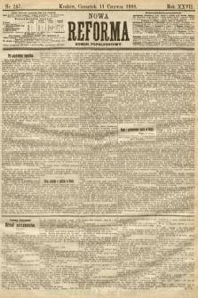 Nowa Reforma (numer popołudniowy). 1908, nr267