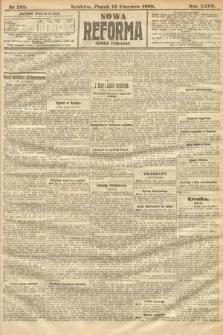 Nowa Reforma (numer poranny). 1908, nr268
