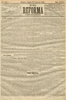 Nowa Reforma (numer popołudniowy). 1908, nr269