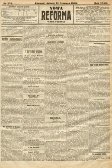 Nowa Reforma (numer poranny). 1908, nr270