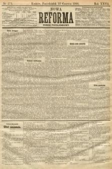 Nowa Reforma (numer popołudniowy). 1908, nr273