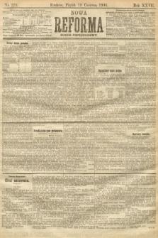 Nowa Reforma (numer popołudniowy). 1908, nr279