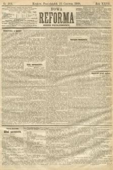Nowa Reforma (numer popołudniowy). 1908, nr283