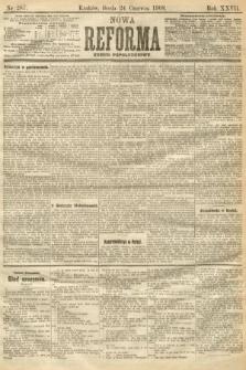 Nowa Reforma (numer popołudniowy). 1908, nr287