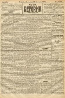 Nowa Reforma (numer poranny). 1908, nr288