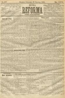 Nowa Reforma (numer popołudniowy). 1908, nr289