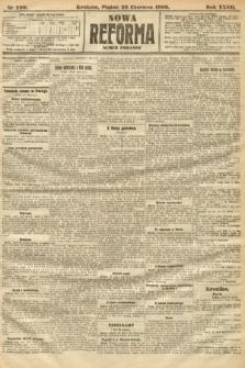 Nowa Reforma (numer poranny). 1908, nr290