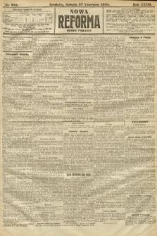 Nowa Reforma (numer poranny). 1908, nr292