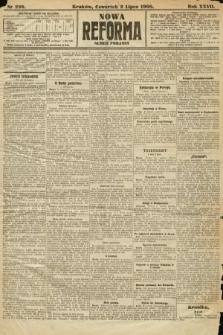 Nowa Reforma (numer poranny). 1908, nr298