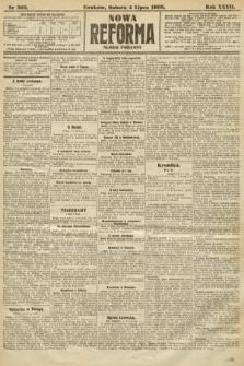 Nowa Reforma (numer poranny). 1908, nr302