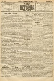 Nowa Reforma (numer poranny). 1908, nr304