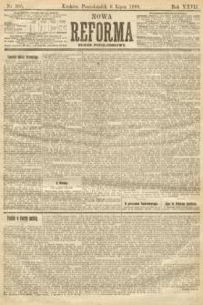 Nowa Reforma (numer popołudniowy). 1908, nr305
