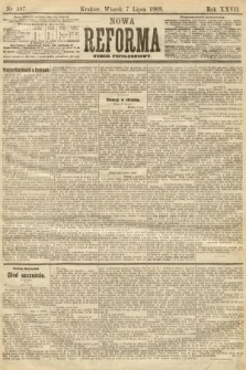Nowa Reforma (numer popołudniowy). 1908, nr307
