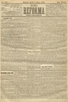 Nowa Reforma (numer popołudniowy). 1908, nr309