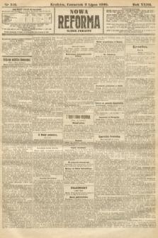 Nowa Reforma (numer poranny). 1908, nr310