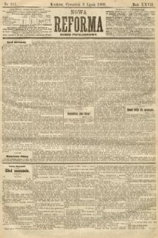 Nowa Reforma (numer popołudniowy). 1908, nr311