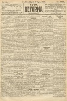Nowa Reforma (numer poranny). 1908, nr312