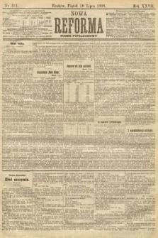 Nowa Reforma (numer popołudniowy). 1908, nr313