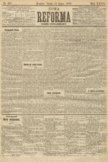 Nowa Reforma (numer popołudniowy). 1908, nr321