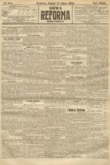 Nowa Reforma (numer poranny). 1908, nr324