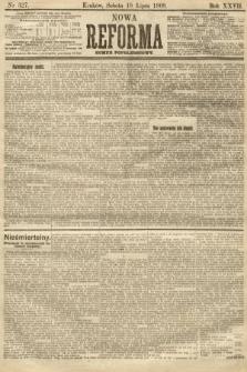 Nowa Reforma (numer popołudniowy). 1908, nr327