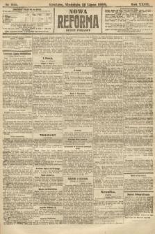 Nowa Reforma (numer poranny). 1908, nr328