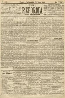 Nowa Reforma (numer popołudniowy). 1908, nr329