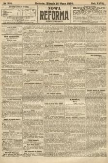 Nowa Reforma (numer poranny). 1908, nr330