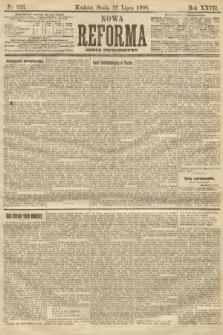 Nowa Reforma (numer popołudniowy). 1908, nr333