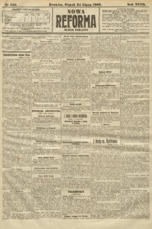 Nowa Reforma (numer poranny). 1908, nr336