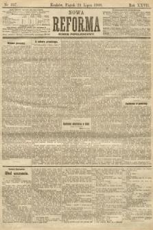 Nowa Reforma (numer popołudniowy). 1908, nr337