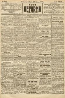 Nowa Reforma (numer poranny). 1908, nr338