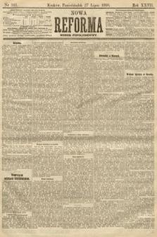 Nowa Reforma (numer popołudniowy). 1908, nr341