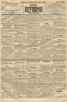 Nowa Reforma (numer poranny). 1908, nr346