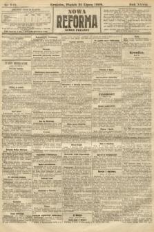 Nowa Reforma (numer poranny). 1908, nr348