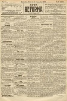 Nowa Reforma (numer poranny). 1908, nr354