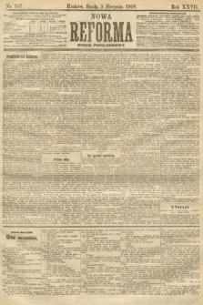 Nowa Reforma (numer popołudniowy). 1908, nr357