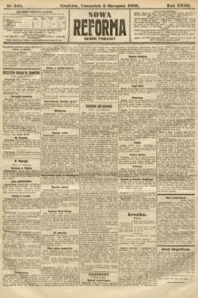 Nowa Reforma (numer poranny). 1908, nr358