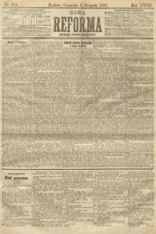 Nowa Reforma (numer popołudniowy). 1908, nr359