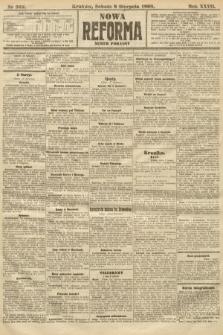 Nowa Reforma (numer poranny). 1908, nr362
