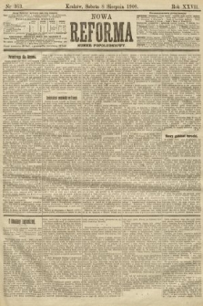 Nowa Reforma (numer popołudniowy). 1908, nr363