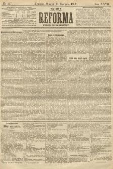 Nowa Reforma (numer popołudniowy). 1908, nr367