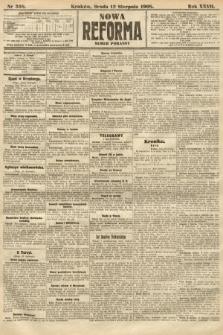 Nowa Reforma (numer poranny). 1908, nr368