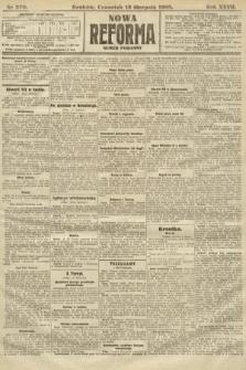 Nowa Reforma (numer poranny). 1908, nr370