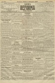Nowa Reforma (numer poranny). 1908, nr372